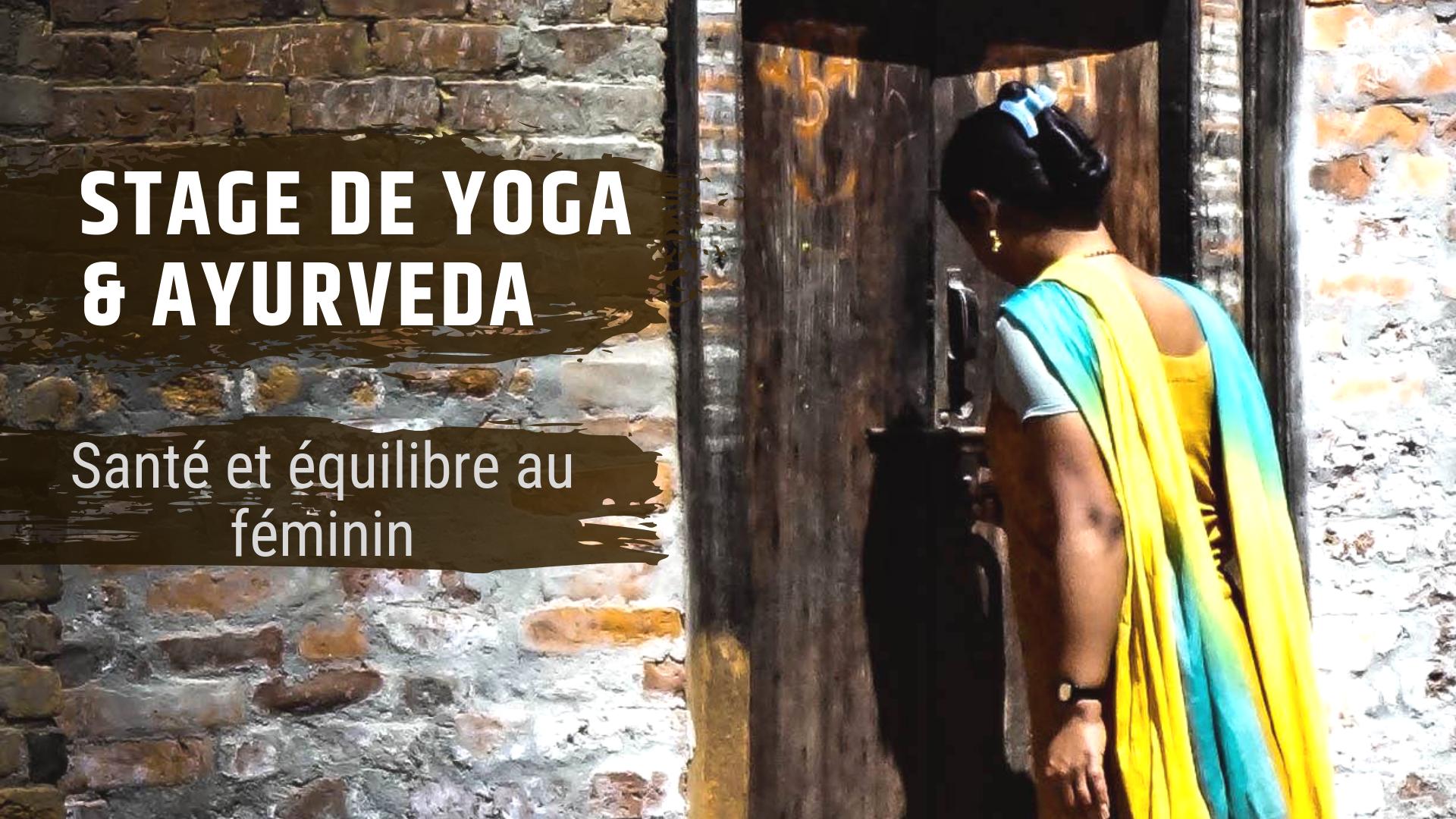yoga ayurveda femme